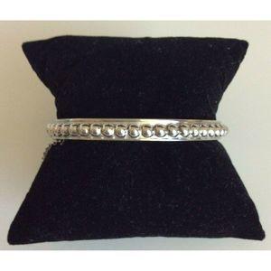 Whiting & Davis Co. Women Bangle Bracelet Studded